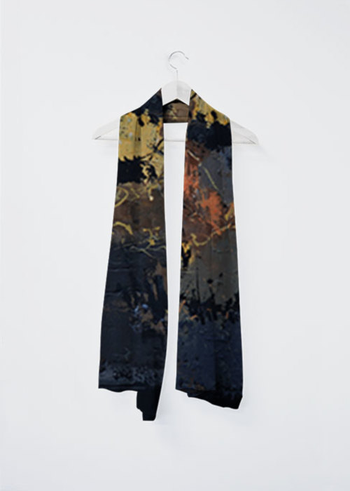 Picture of Black bea Vivienne Scarf