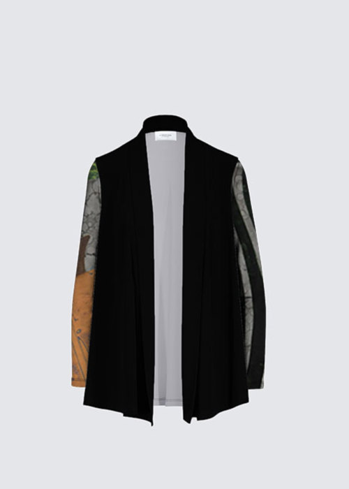 Picture of In the Presence of Your Step Frida Cardigan