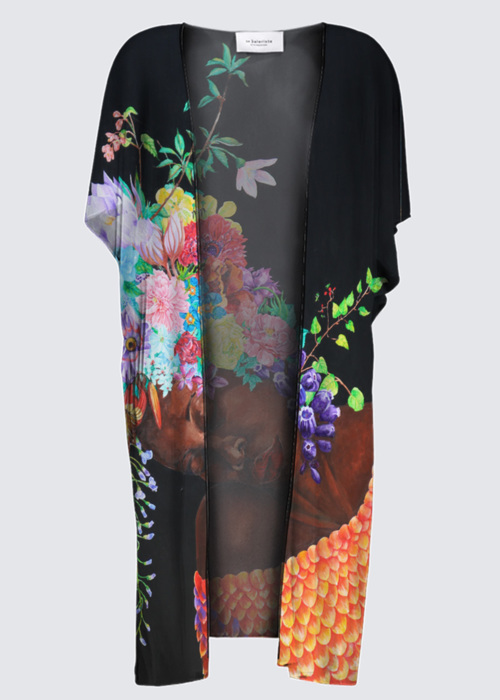 Picture of the language of flowers YK Kimono