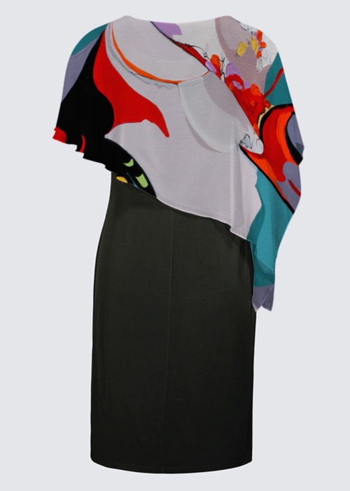 Picture of Carnival Joni Cape Dress