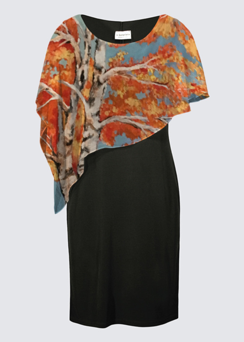 Picture of Changing seasons Joni Cape Dress