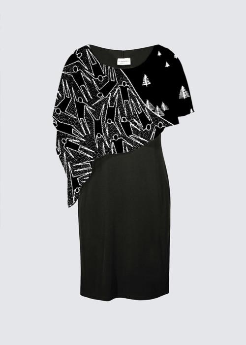 Picture of LE SOUFFLE CRÉATEUR Joni Cape Dress