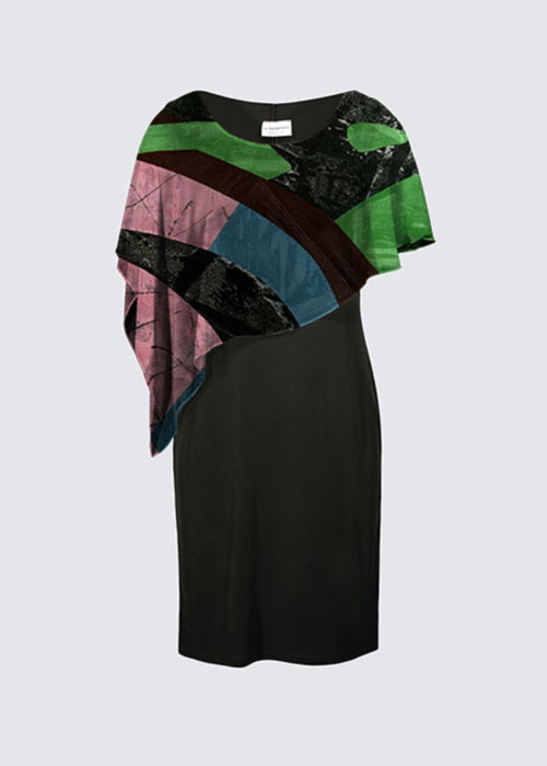 Picture of Eye of the Storm I Joni Cape Dress