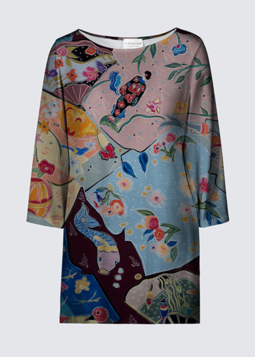 Picture of Lost in the Dream of the Floating World Patti Tunic