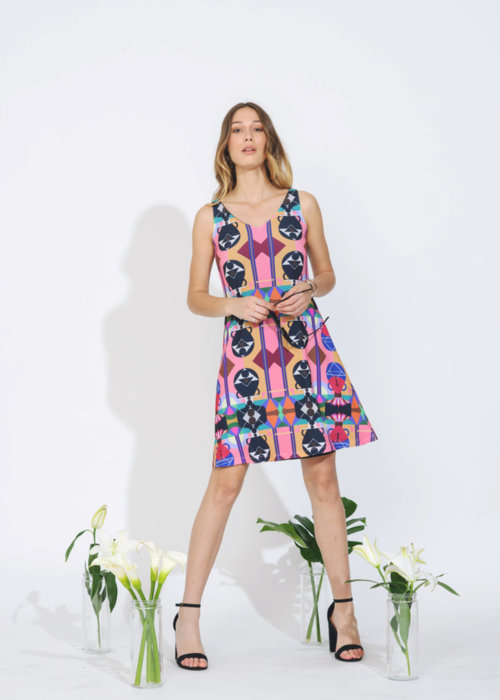 Picture of Untitled Abstract 18 Kate Reversible Dress