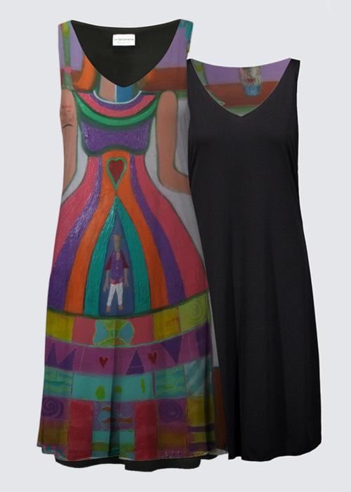 Picture of La conteuse Kate Reversible Dress