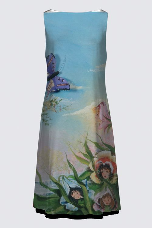 Picture of Butterfly Flies High Dress