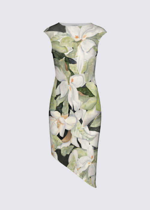 Picture of Magnolias Felicia Asymmetric Dress