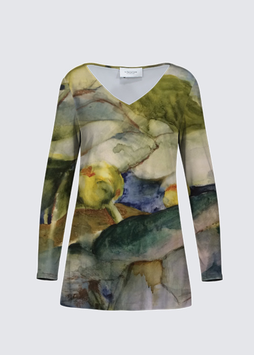 Picture of Lily pond Marlene Top