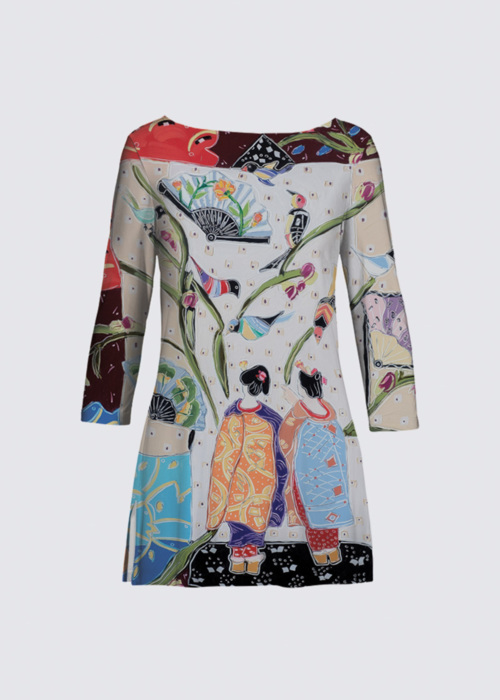 Picture of Entering the Floating World Patti Tunic II