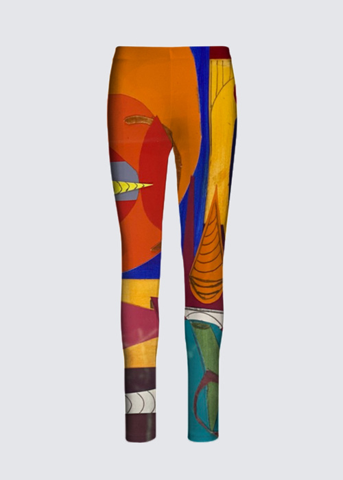 Picture of Living Jackie Leggings in Scuba Knit