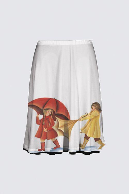 Picture of Slicker Flare Skirt