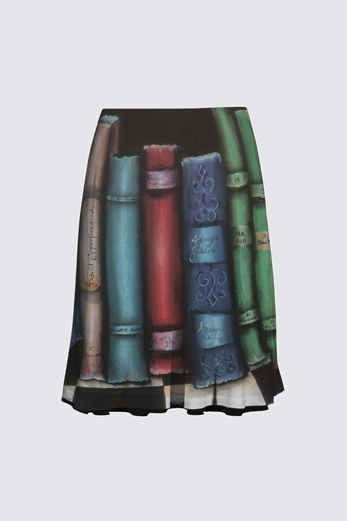Picture of the Bookends Flare Skirt; Full