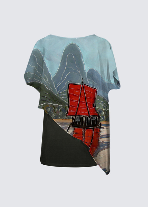 Picture of The Red Sail Yoko Cape Tunic