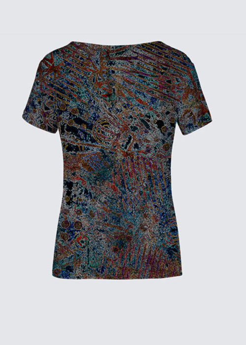 Picture of Atlantis on Fire K Smith Tee