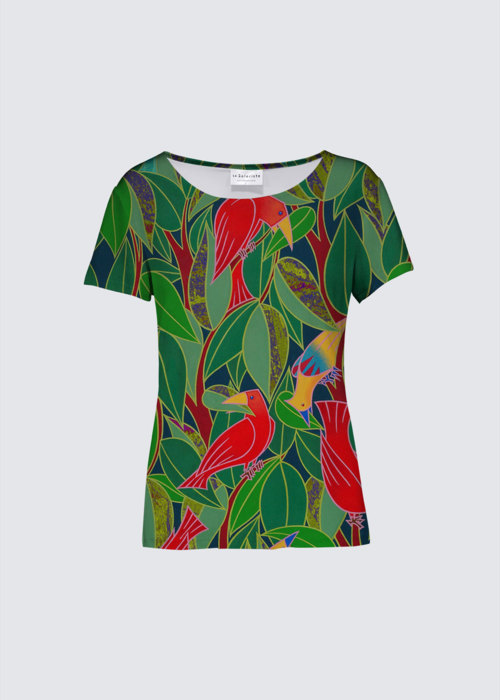Picture of Feuillage d'oiseaux K Smith Tee