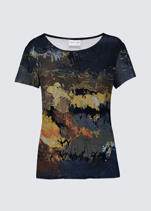 Picture of Black bea K Smith Tee